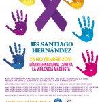 Día contra la Violencia de género en el IES Santiago Hernández