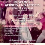 Se buscan actrices y no actrices